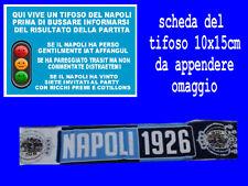 1 SCIARPA NAPOLI 1926 napoli tifoso azzurri maradona bufanda football scarf nn