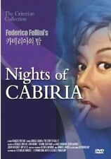 Nights of Cabiria (1957) Federico Fellini DVD *NEW