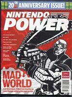 2008 Nintendo Power Magazine #231 August Wii MadWorld NewsStand Variant