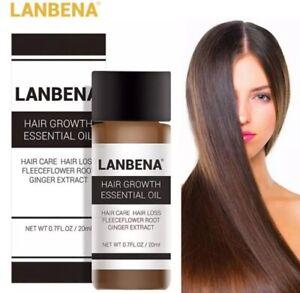 (100ml/59,45€) LANBENA HAARWACHSTUM Shampoo Serum Haarwuchs Haarausfall 20ml