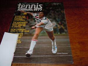 "VINTAGE FEBRUARY 1977 "" TENNIS "" SPORTS MAGAZINE"