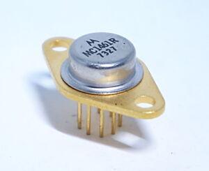 Motorola MC1461R Voltage Regulator TO-66 Hi Yield Gold Vintage 1973 New