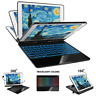 """Backlit Bluetooth Keyboard Case For iPad 5/6/7/8th Air 3/2/1 Pro 9.7/10.5/11"""""""
