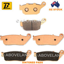 Front Rear Sintered Brake Pads Honda CBR 400 Nc29 Gull Arm 1990-1992 1993 1994
