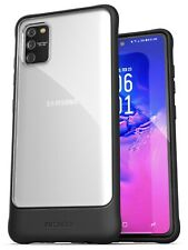 Samsung Galaxy S10 Lite Case Slim Fit Protective Phone Cover (Clear/Black)