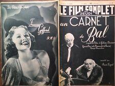 """LE FILM COMPLET 1938 N 2115 """" UN CARNET DE BAL """" - FRANCOISE ROSAY - MARIE BELL"""