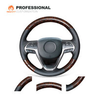 SAND 2005 Jeep Grand Cherokee Leather Steering Wheel Cover Wheelskins AXX