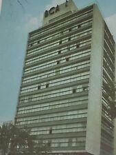 Hotel Bamer Alameda Park Mexico City Postcard Vintage 23570