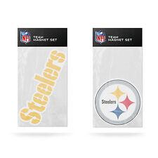 Rico NFL Pittsburgh Steelers Team Magnet Set 2 pack