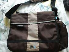 Baba Bing Changing Bag With Mat messenger bag style chocolate brown