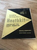 Heathkit LG-1 Laboratory Type Signal Generator Assembling And Using Manual Only
