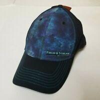 "NWT Field & Stream Hat Mens L/XL ""Deep Blue Static"" Baseball Cap Fishing Hunting"