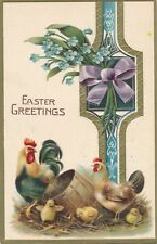 EASTER – Chickens, Chicks and Bow