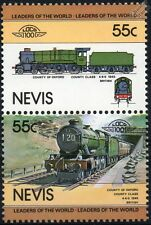 1945 GWR County of Oxford Class 1000 4-6-0 No.1023 Train Stamps / LOCO 100