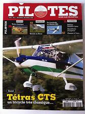 PILOTES n°13 du 11/2008; Essai Tétras CTS/ Balade en Sinus/ Cessna à l'eau