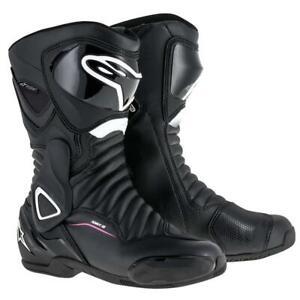 Stella Alpinestars SMX-6 V2 Drystar Ladies Boots - Black / White / Pink