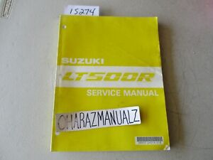 1987 Suzuki LT500R Service Manual