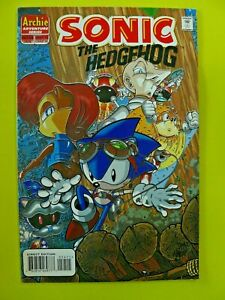 Sonic the Hedgehog #54 - Robotnik plots for the future - VF - Archie Comics