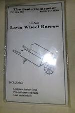Dollhouse 1:24 Miniature Wheelbarrow Kit