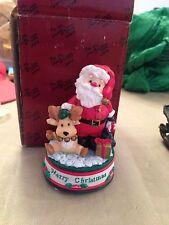 San Francisco Music Box Co Merry Christmas Mini Figurine 31-29230-6-00 Christmas