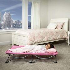 Travel Cot Kids Toddler Nap Cots Preschool Sleep Over Portable Children Camp Bed