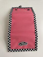 New VANS Skater Surfer Logo Pink Street Style Snap Over Sport Tri Fold Wallet