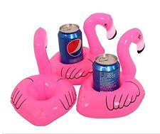 Floating Inflatable Pink Flamingo Drink Holder for Swimming Summer Time Fun
