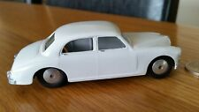 Vintage 1950's Corgi Riley Pathfinder 205 Model Car Fully Refurbished White Rare