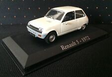 VOITURE MINIATURE de COLLECTION 1/43 RENAULT 5 de 1972 -R5- NOREV