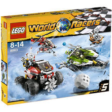 8863 LEGO WORLD RACERS-tormenta in Antartide NUOVO & OVP!