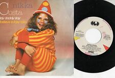 NIKKA COSTA disco 45 giri MADE in ITALY Stay daddy stay 1982 STAMPA ITALIANA