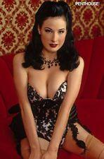 DITA VON TEESE Erotik Karte Frau Bondage Woman Lingerie 20 Photo Burlesque