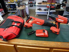 Hilti 2 Tool Set With 2 Batteries And Charger