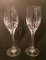 Mikasa ILLUSION Set Of 2 Wine Glasses EXCELLENT