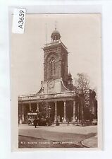 A3659cgt UK All Saints' Church Northampton PU1908 vintage postcard