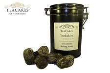 Carnation Green Tea Balls Flowering Artisan x 6 in Airseal Gift Caddy