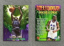 1995-96 Shaquille O'Neal SkyBox Premium Meltdown #M8 (Orlando Magic/Foil)