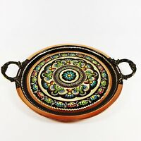 Traditional Turkish Hand Crafted Copper Coffee Tray