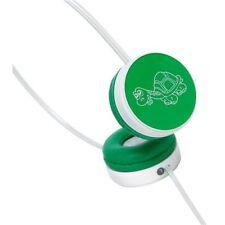 Auriculares de diadema con conexión Cable verde