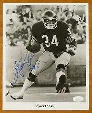 Walter Payton Signed 8x10 Photo with JSA COA