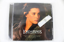 Lord Of The Rings Fellowship of the Ring Soundtrack CD 2001