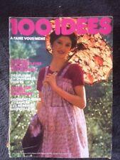 ▬► 100 IDÉES A FAIRE VOUS MÊME  N° 31 (05/ 1976 ) COUTURE_TRICOT_OUVRAGES_DÉCO