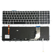 New For HP Envy 15-j000 15t-j000 17-j000 Backlit Keyboard With Frame V140626A US