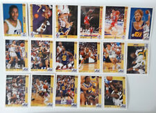 1991-92 Upper Deck Utah Jazz Team Set Of 21 Basketball Cards