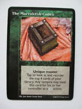 The Marrakesh Codex VTES Promo card Vampire the Eternal Struggle ccg tcg trading