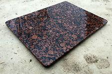 Tischplatte Granitplatte Couchtischplatte Esstischplatte Naturstein braun Tisch