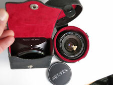 Pentax Super Takumar 28mm f3.5 Lens with Hood and cases, Beautiful!