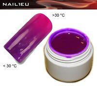 UV Thermogel 20 Dunkelviolett - pink 5ml/ Nagelgel Colorgel Thermo-Gel Farbgel