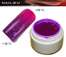 UV Thermo Gel 20 Dark Purple - Pink 5ml / Nail Gel Colorgel Thermo Gel Color Gel