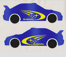 Subaru Sti,Impreza wrx rally decal sticker carbon #1